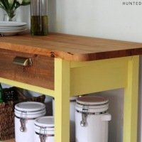 project plans: kitchen island & coffee/bar cart