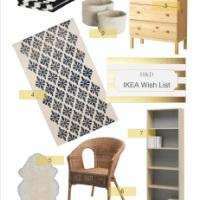 Wish List: IKEA