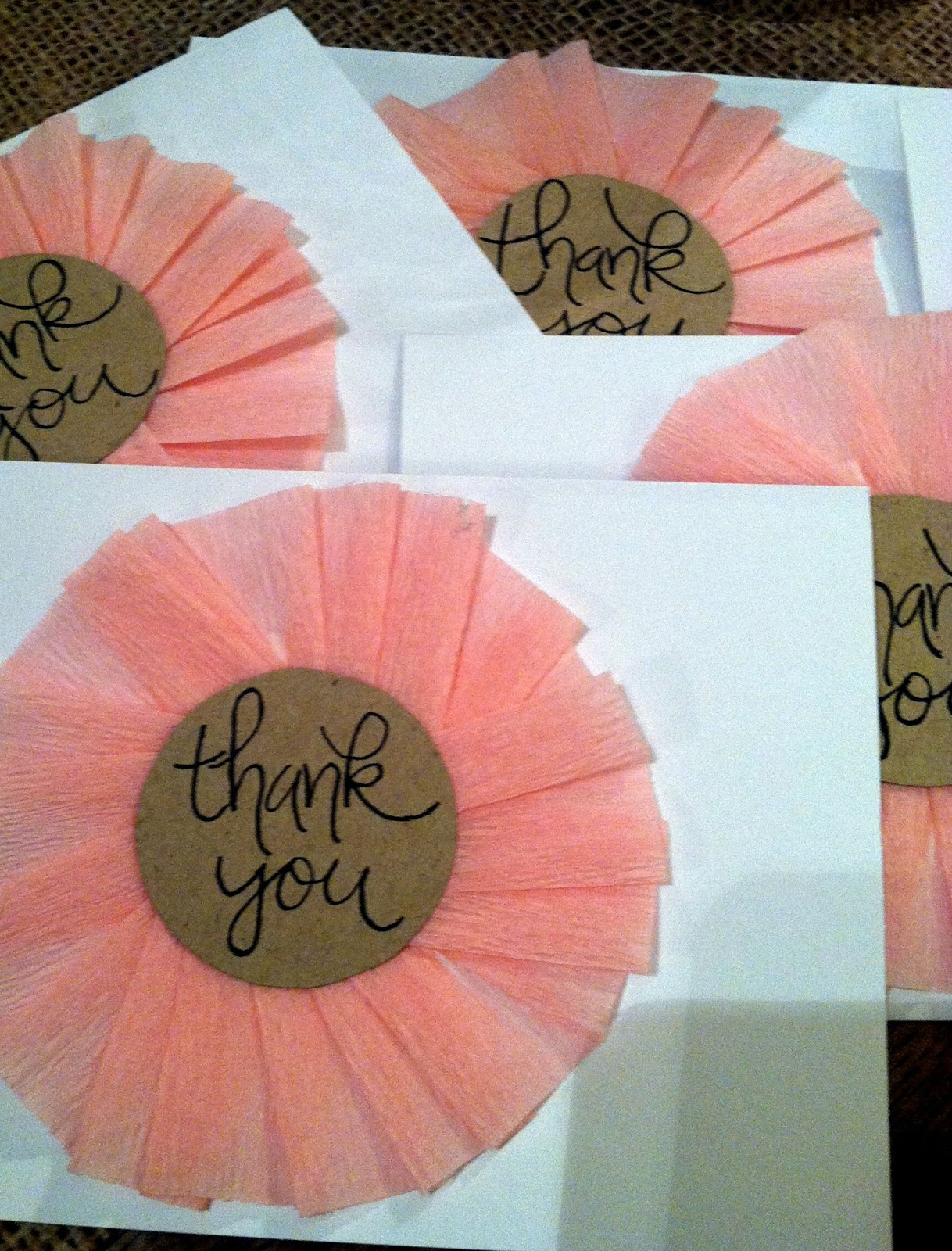 CREATE | DIY Girly Thank You Cards – what hopes & dreams are made of