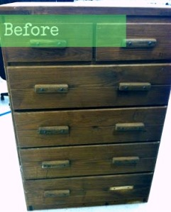 Before & After: Goodwill Dresser Refurb Project