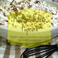 recipe review: Mustard Butter Popcorn by Heidi Swanson