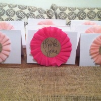 CREATE | DIY Girly Thank You Cards