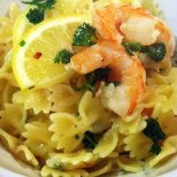 Beachy Shrimp Pasta {Barefoot Contessa's Shrimp Scampi}