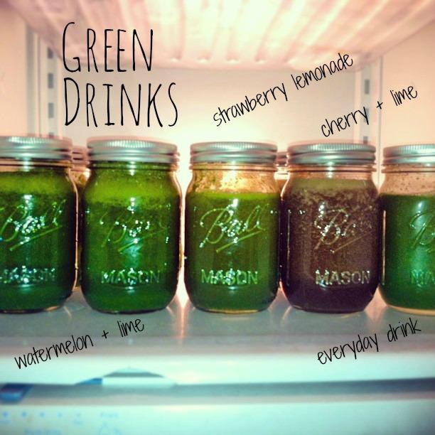 The Green Drink Recipe Recap