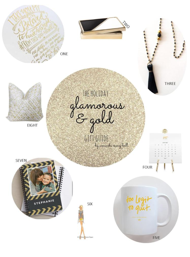 Amanda Macy Hall Gold and Glamorous Holiday Gift Guide