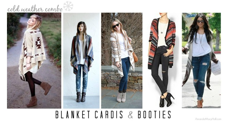 Amanda Macy Hall blanket cardis and booties