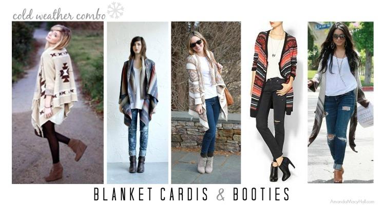 Amanda Macy Hall blanket cardis and booties