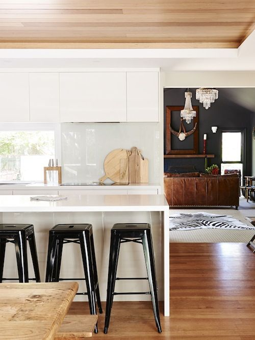 hopes & dreams: white walls kitchen