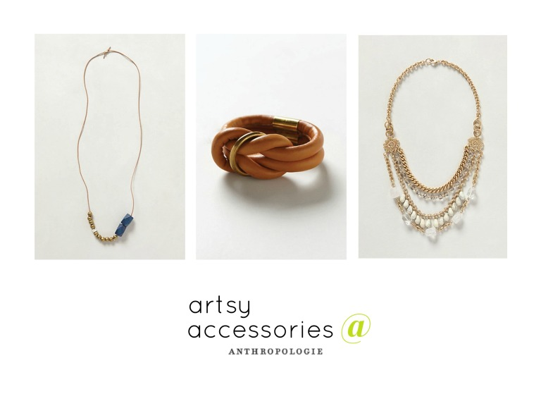 artsy accessories at anthropologie amanda macy hall