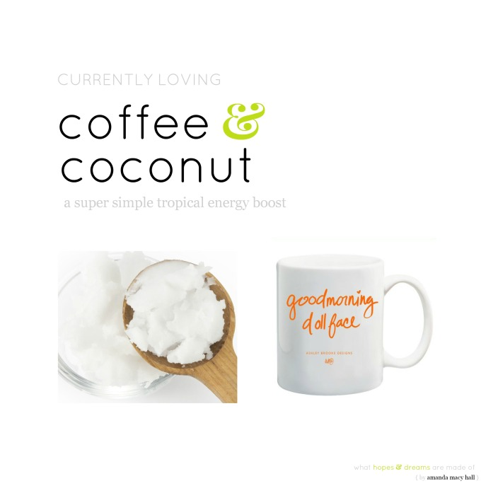coffee and coconut amanda macy hall