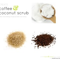 CREATE | coffee & coconut oil scrub