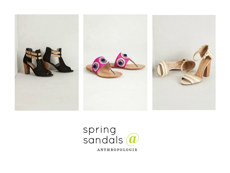 spring sandals at anthropologie amanda macy hall