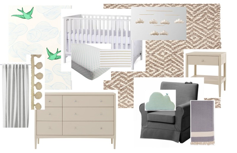 Nursery Inspiration LIght & Bright Amanda Macy Hall