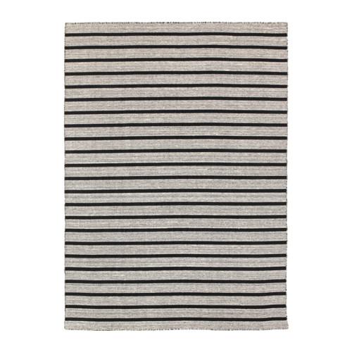 ikea striped rug raskmolle-rug-flatwoven-black__0371235_PE552990_S4