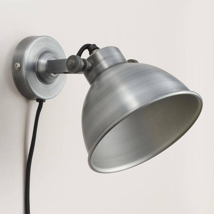 world market sconce Aged Zinc Ethan Wall Sconce