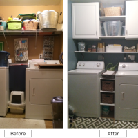 DESIGN  |  DIY Laundry Room Makeover