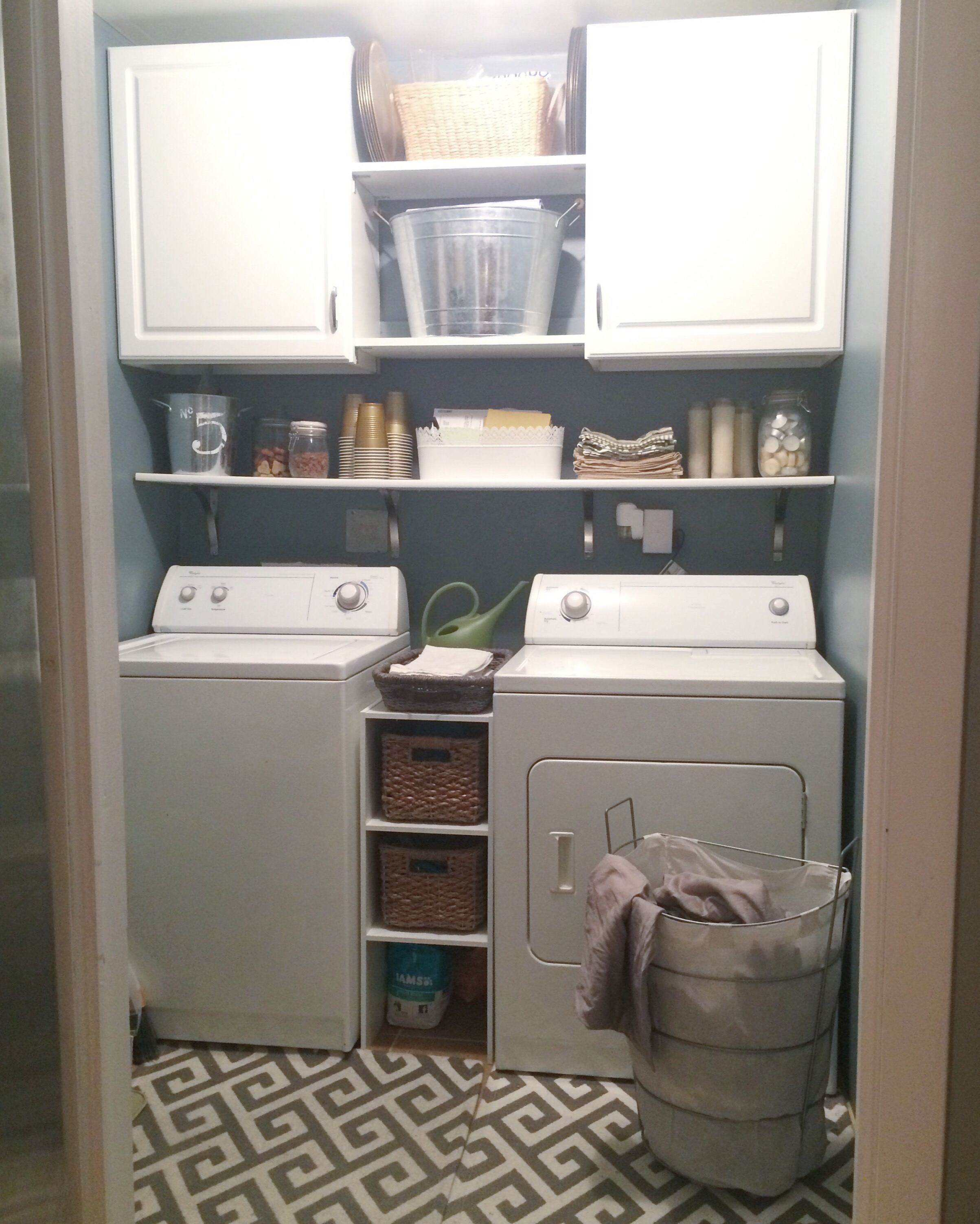 Very Small Laundry Room Design Diy Laundry Room Makeover What Hopes Dreams Are Made Of