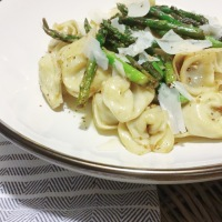 COOK  |  Simple Suppers: Ready-Made Pasta + Fresh Asparagus + The Most Delicious and Easy Sauce EVER