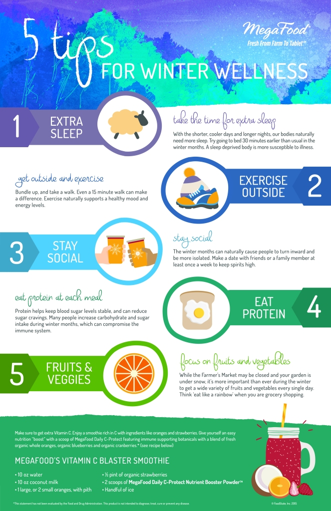 MegaFood-5 Tips For Winter Wellness-Infographic-11X17-CMYK-300DPI