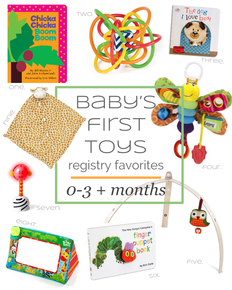 Littles Baby S First Toys Registry Favorites 0 3 Months What