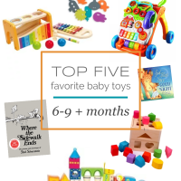 LITTLES  |  Our Top 5 Favorite Baby Toys 6-9 + Months