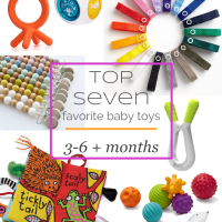 LITTLES  |  Our Top Seven Favorite Baby Toys 3-6+ Months