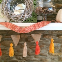 CREATE  |  DIY Fall Tassel Garland