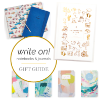 HOPES & DREAMS  |  Gift Guide: Lovely Little + Super Thoughtful Notebooks & Journals