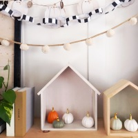 House Tour: Fall and Halloween Decor {plus a 3-step decor DIY}