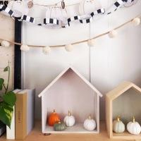 House Tour: Fall and Halloween Decor {plus a 3-step decor DIY}