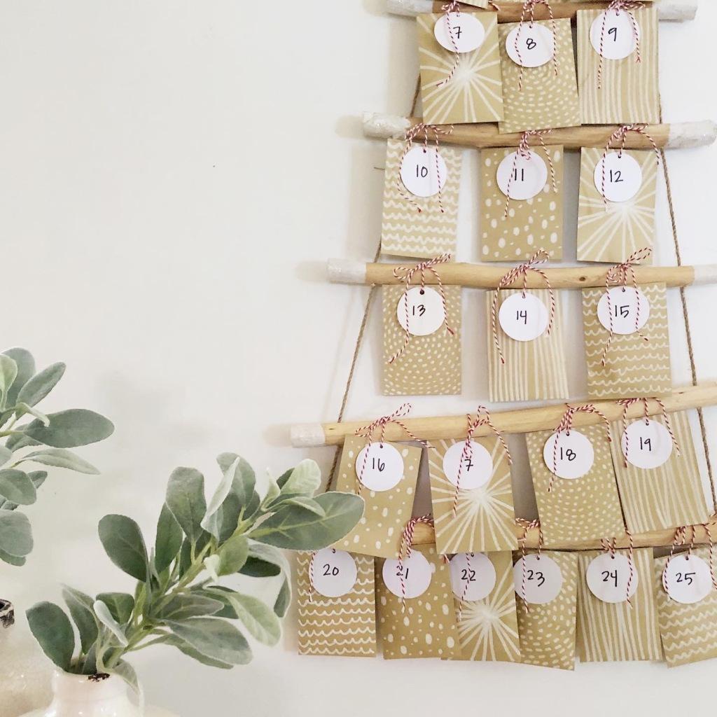 A Amanda Macy Hall Advent Calendar Christmas Cards DIY How To