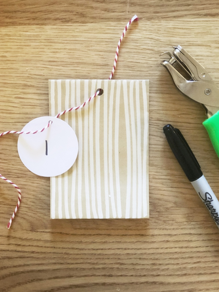 Amanda Macy Hall Advent Calendar Christmas Cards DIY How To 3