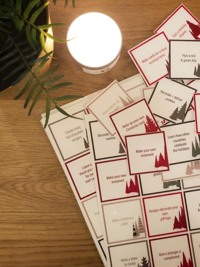 Amanda Macy Hall Advent Calendar Christmas Cards DIY How To 2
