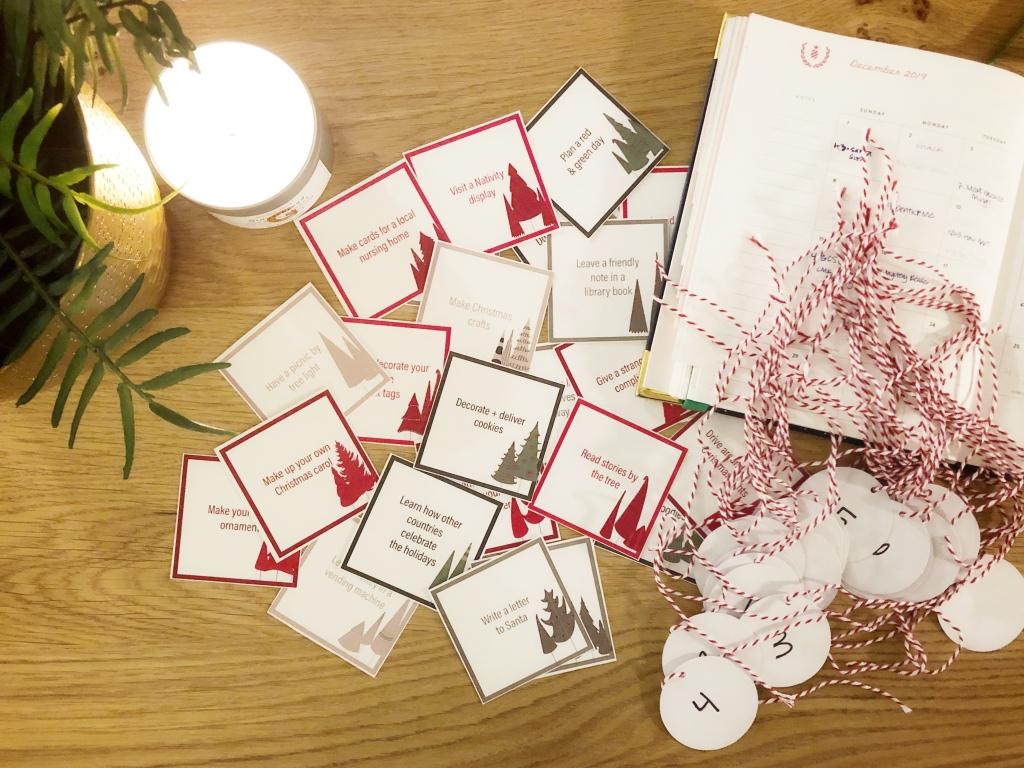Amanda Macy Hall Advent Calendar Christmas Cards DIY How To 5