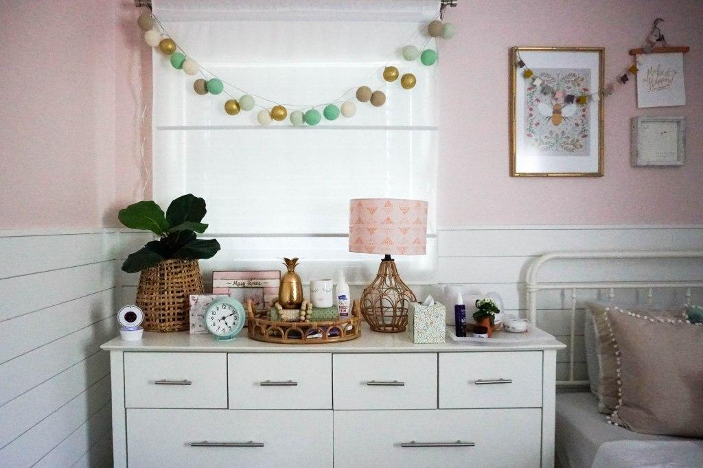 Amanda Macy Hall Toddler Girl Room Organization - dresser