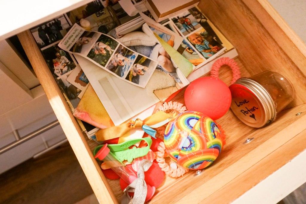Amanda Macy Hall Toddler Girl Room Organization - happy drawer