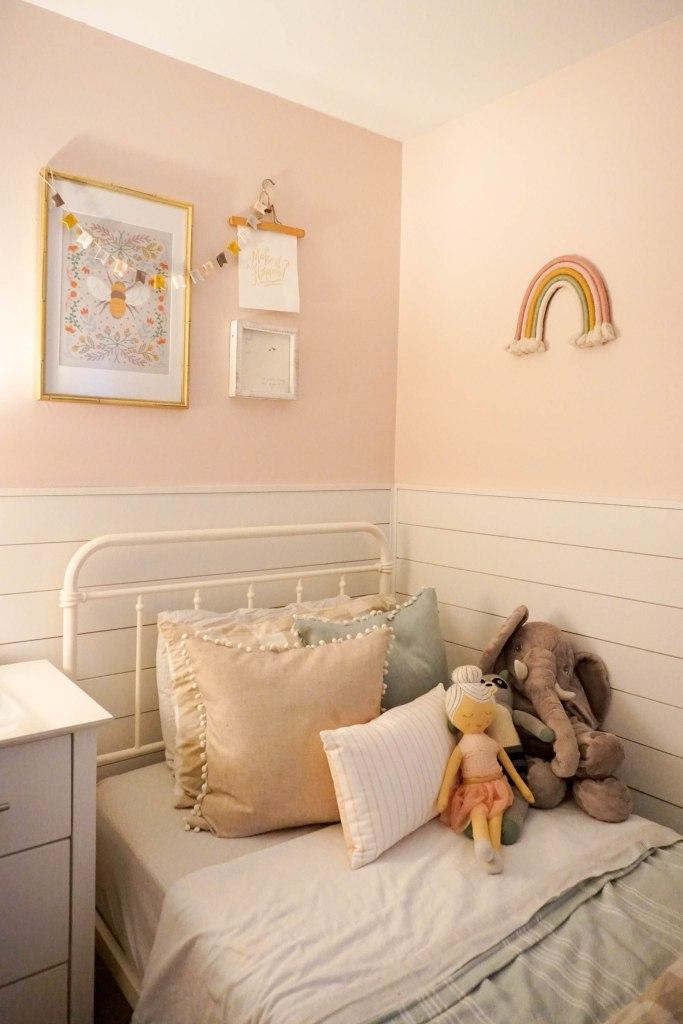 Amanda Macy Hall Toddler Girl Room Organization
