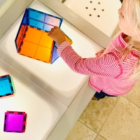 DIY IKEA Light Table for Toddlers and Kids
