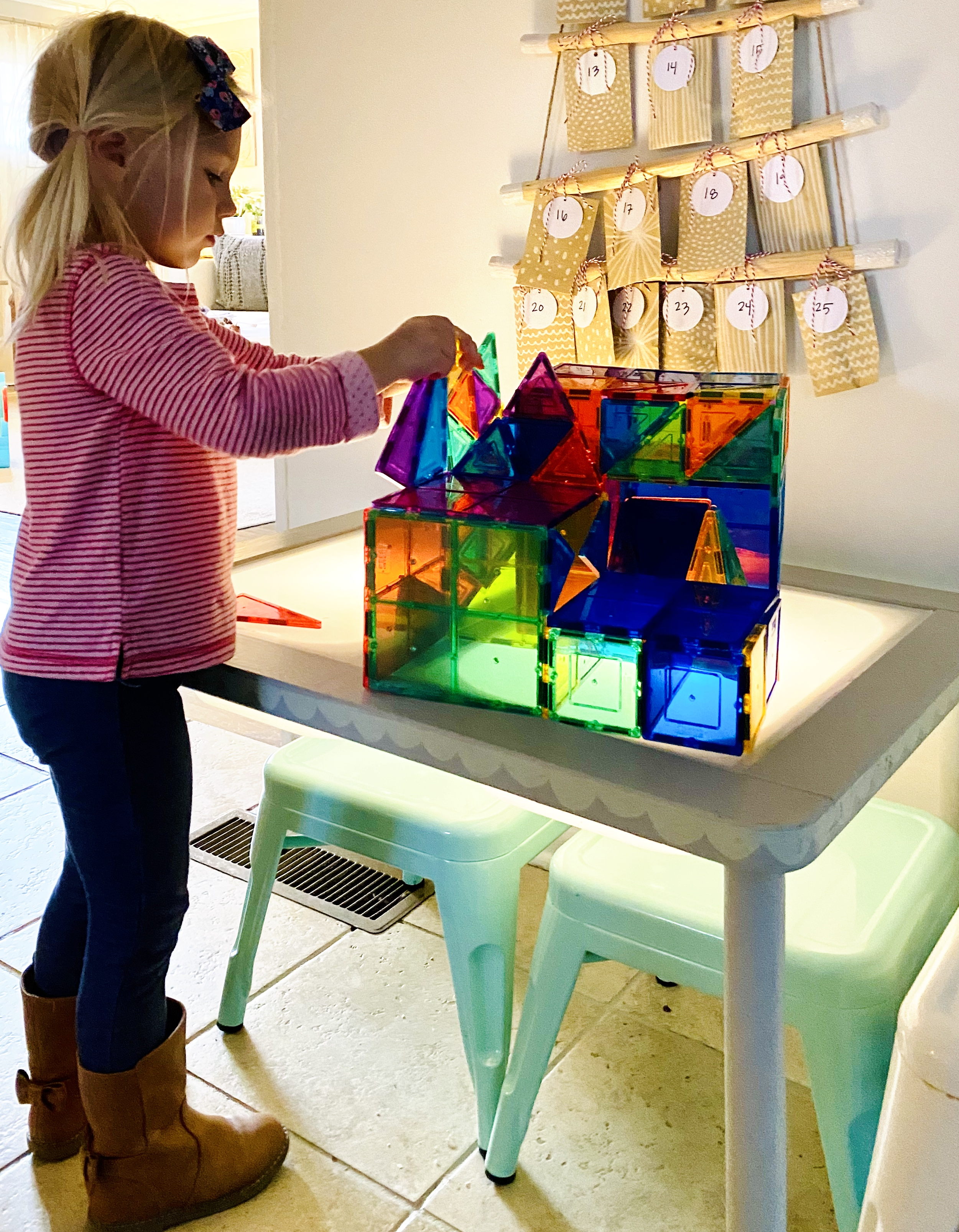 Diy Light Table For Toddlers And Kids Amanda Macy Hall